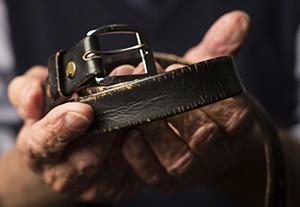 Eddie Jaku's belt