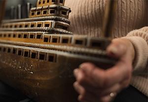 Jacqueline Dale's wooden passenger ship
