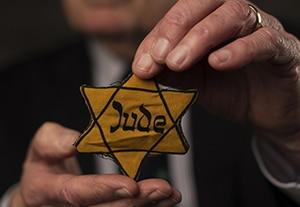 Peter Rossler's yellow Star of David